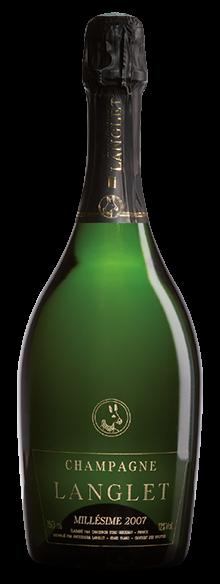 Champagne langlet millesime 2007
